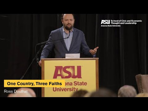 'One Country, Three Faiths: America's Real Religious Divide' with Ross Douthat