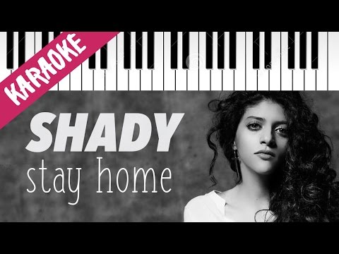 Shady Cherkaoui | Stay Home | AMICI 16 | Piano Karaoke con T