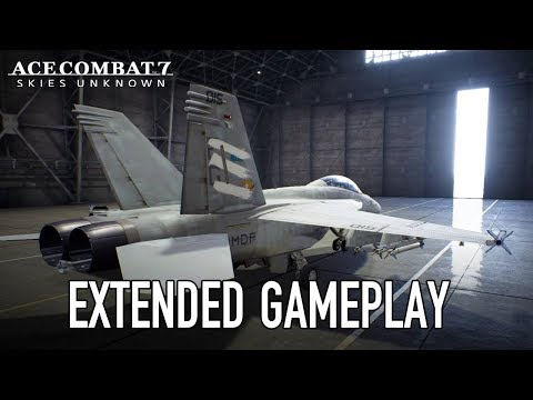 Ace Combat 7: Skies Unknown - PS4/XB1/PC - Gamescom 2018 Extended Gameplay