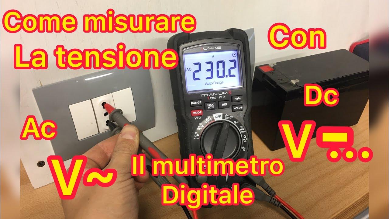 Come si usa un Multimetro Digitale (Tester)