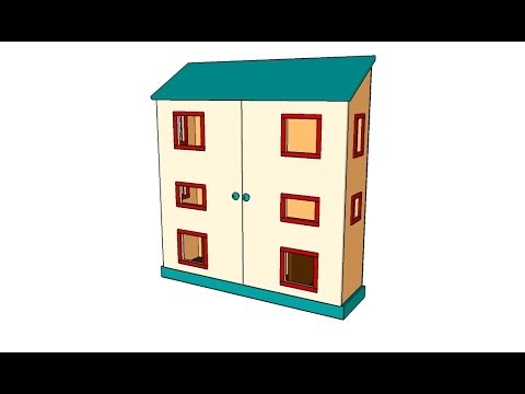 free doll house plans youtube