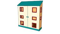 Dollhouse plans free pdf - YouTube