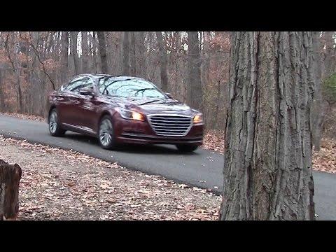 Hyundai Genesis Road Test Review by Drivin Ivan