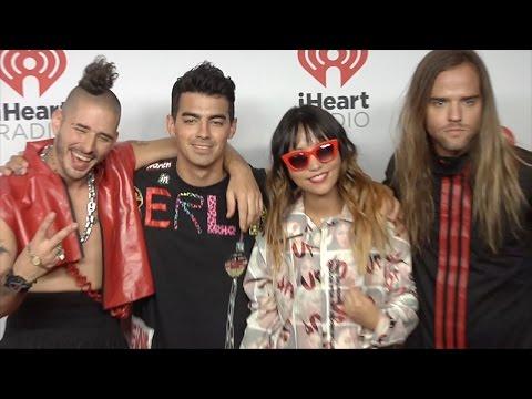 Joe Jonas New Dance Band DNCE // iHeartRadio Music Festival 2015 Red Carpet Arrivals