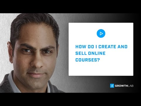 Ask Ramit - How Do I Create and Sell Online Courses?