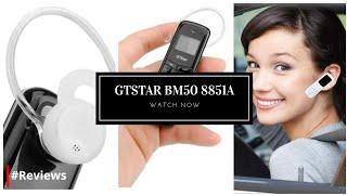 GTStar BM50 Mini Bluetooth 2G Headset Phone Dialer, MP3 Music, Single SIM Black - #Reviews