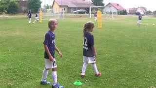 CZ2- Piłkarski Biwak w Brzeźniku  z Regiosport - Lato z Szabełkami -Pierwszy Trening