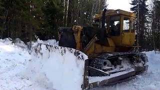 Работа трактора т 130(, 2014-03-16T13:06:26.000Z)