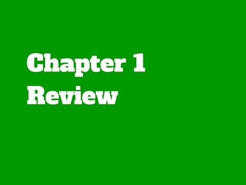 chapter 1 1 review