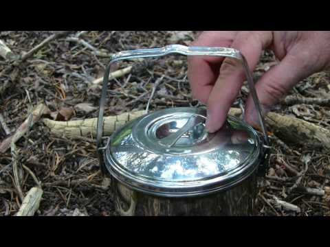 Tips And Tricks For The Classic Billy Can Bush Camping Pot.