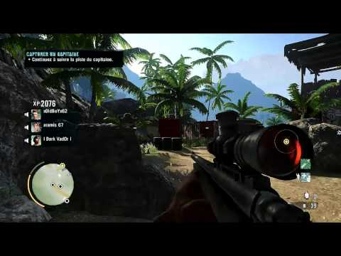 Far Cry 3 M700 Sniper Gameplay ( co-op )