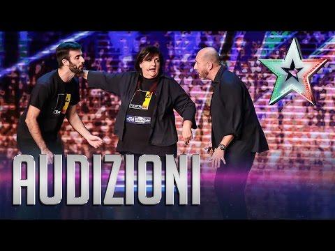 Teatribù: l'arte dell'improvvisazione | Italia's Got Talent 2015