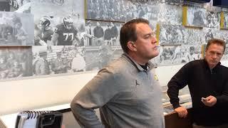 Michigan football assistants talk before Michigan State
