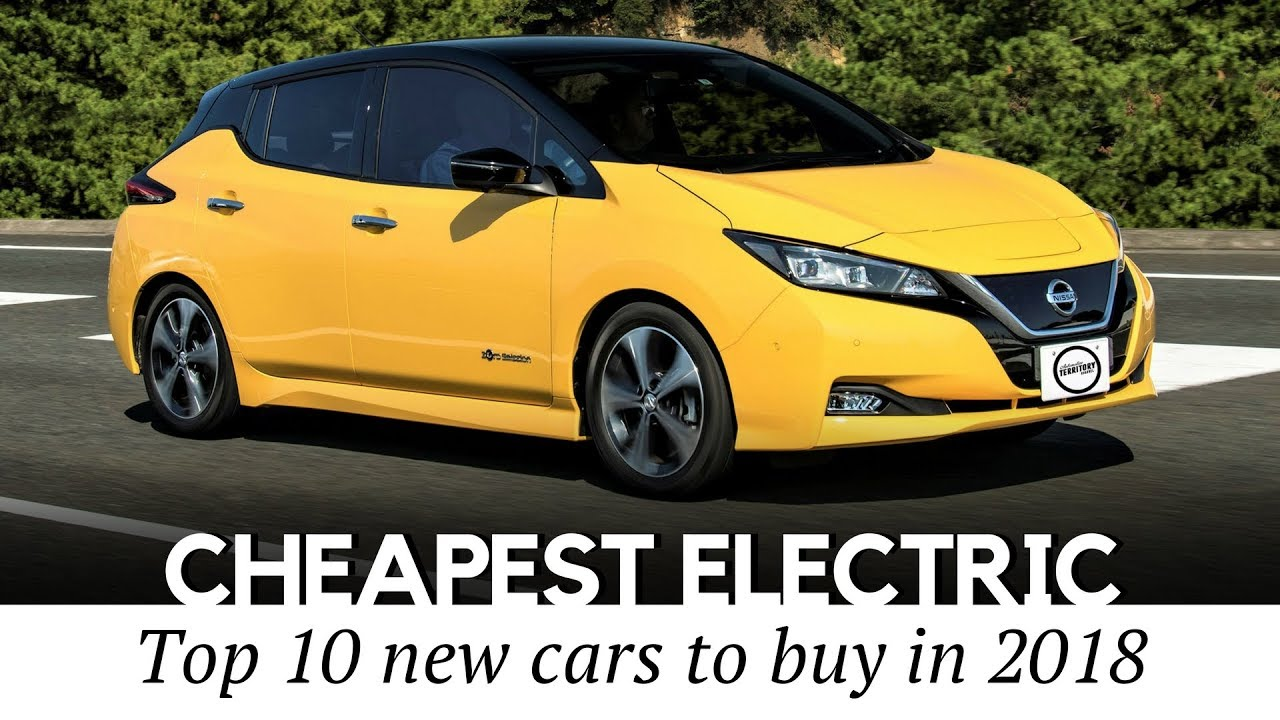 10 Cheapest Electric Cars To Buy In 2018 New And Used Models