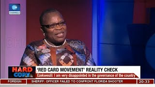 Asking Questions Is The Heartbeat Of Democracy - Oby Ezekwesili | Hard Copy |