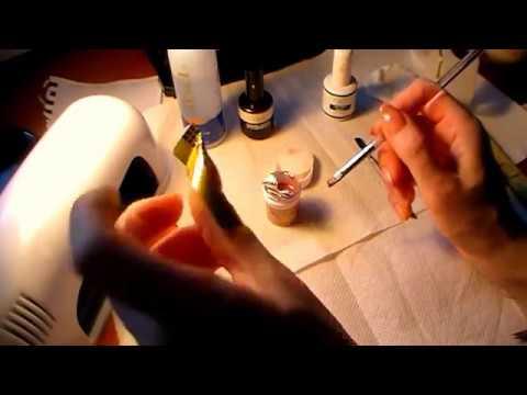 Наращивание ногтей гелем самой себе в домашних условиях
