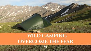How To Overcome Fear Of Wild Camping Alone - Solo Female Hiker