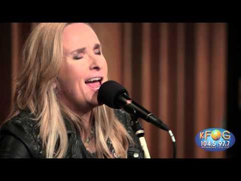 Melissa Etheridge -  Just a Little Bit of Me (Live on KFOG Radio)