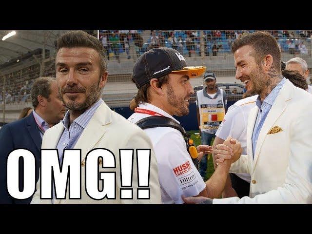 DAVID BECKHAM VISITS Bahrain F1 Grand Prix 2019!