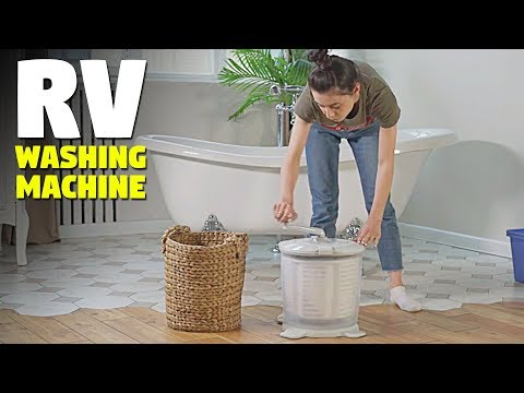 Non-Electric & Hand Powered RV Washer and Dryer