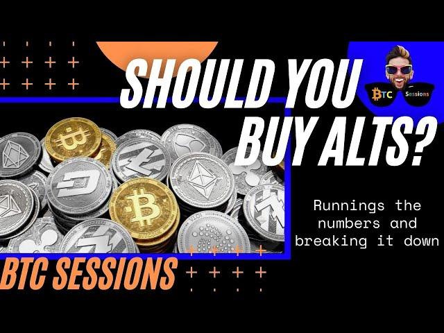 Should You Buy Altcoins? Only If You Want THIS To Happen...