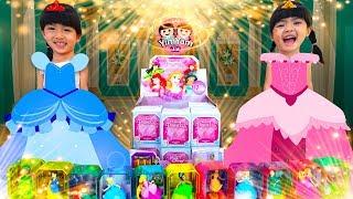 หนูยิ้มหนูแย้ม   สุ่มเซอร์ไพรส์แต่งตัวเป็นเจ้าหญิง Disney Princess Toys Surprise Box