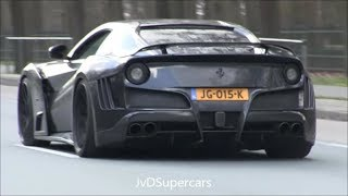 The BEST OF Ferrari SOUNDS! LaFerrari, Enzo, F12 TDF, 812SF, 599xx, F40, F1...LOUD SOUNDS!
