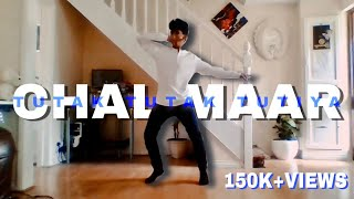 Download Hindi Video Songs - CHAL MAAR Ahinth Dance   Tutak Tutak Tutiya   Prabhu Deva   Tamannaah   @ Jeya Raveendran