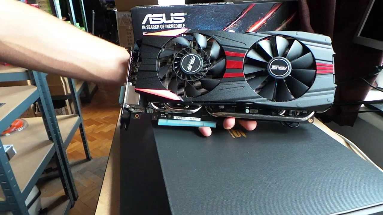 ASUS Radeon R9-280X DirectCU II TOP (R9280X-DC2-3GD5) videokártya  kicsomagoló videó | Tech2 hu