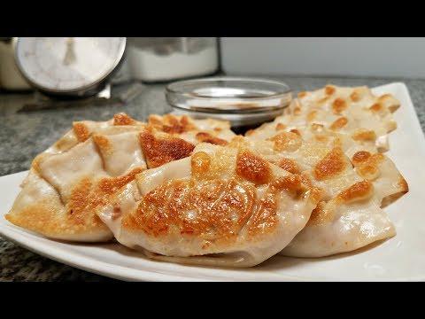 korean-dumplings-recipe-|-kimchi-pork-mandu-|-pan-fried-dumplings-|-dumpling-sauce-recipe