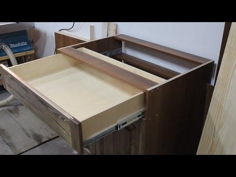 Ящик выдвижной для кухни своими руками