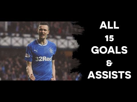 Jamie Murphy - Rangers | All 15 Goals & Assists | 2017/18