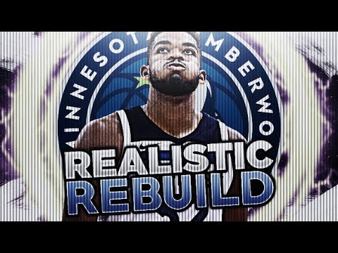 TRADING ANDREW WIGGINS!? TWOLVES REALISTIC REBUILD! NBA 2K18