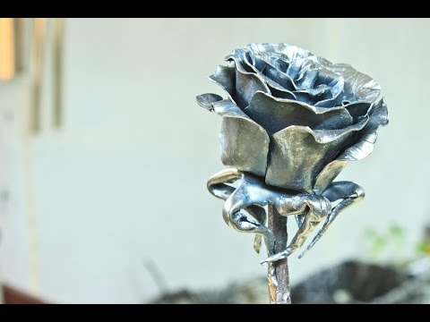 Making a Steel Rose