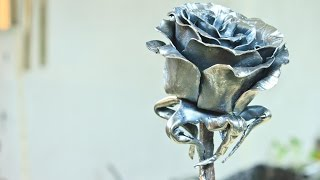Making a Steel Rose