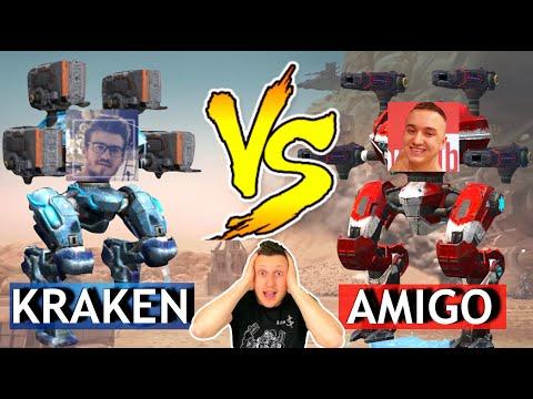 War Robots - Amigo (Real) VS Kraken (Ci4)