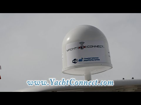 Yacht Connect - Wifi/4G coastal internet amplifying system.