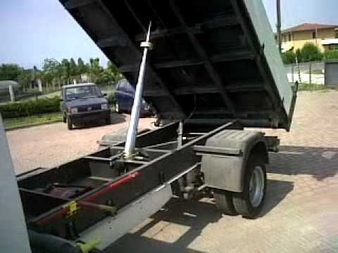 bf34652574 FORD Transit tipper truck - YouTube