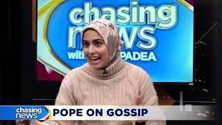 Pope Francis likens gossip to terrorism
