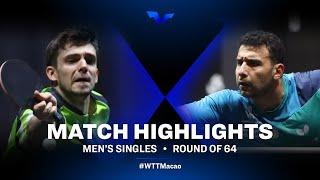 Kirill Gerassimenko vs Assar Omar | WTT Star Contender Doha 2021 | Men's Singles | R64 Highlights