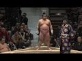 2017大相撲初場所 初日 宇良 対 千代丸