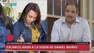 Diego Cabot: Excarcelaron a la viuda de Daniel Muñoz