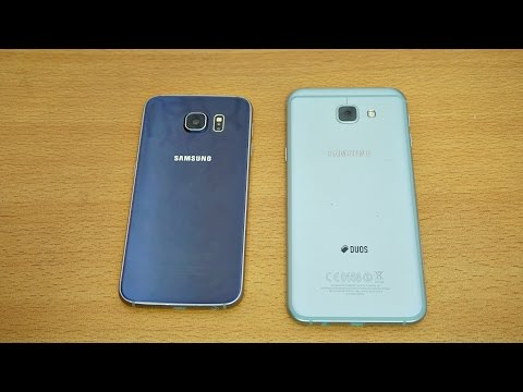 Samsung Galaxy A8 2016 vs Galaxy S6 - Review & Camera Test! (4K)