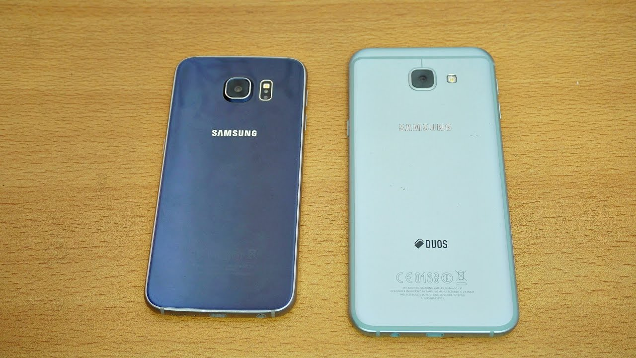 Samsung galaxy a8 2016 pictures official photos - Samsung Galaxy A8 2016 Vs Galaxy S6 Review Camera Test 4k Youtube