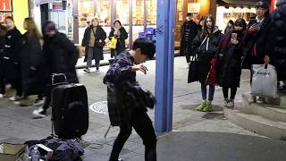 JHKTV] 홍대댄스디오비hong dae k-pop dance dob fire