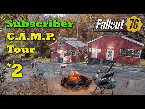 Fallout 76 Subscriber CampTours #2 - The 91 Rest Stop thumbnail