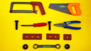 Unboxing Toys Of Mechanical Tools For Repair Nursery Rhymes For Toddlers Fun Songs