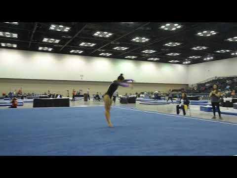 Ellie Lazzari - Floor - 2019 Women's Junior Olympic National Championships