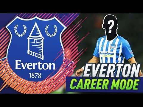 SIGNING A NEW LEFT BACK!!! FIFA 18 EVERTON CAREER MODE #7