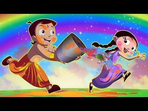 Chhota Bheem - Rangon ki Bauchhaar | Holi Video